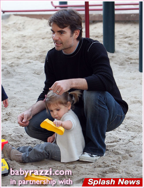Jeff Gordon & Family At Coldwater Park