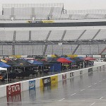 Rain Gives Jeff the Pole Position in Martinsville