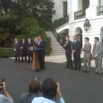 Jeff Gordon at the White House