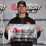 Jeff Grabs the Pole at Charlotte!
