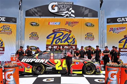 Thatsracin  Nascar  Auto Racing News on Jeff Gordon Ties Nascar Pole Record Nascar Talladega Auto Racing