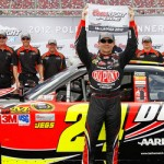 Jeff Gordon Ties Nascar Pole Record