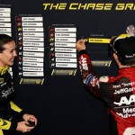 Jeff Gordon Martinsville Chase Grid