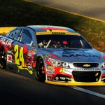 Jeff Gordon Miami on track