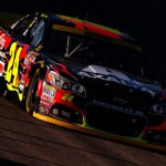 Jeff Gordon Texas car in shadows