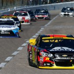 Jeff Gordon Texas leading the pack