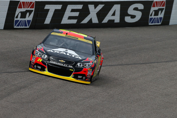 Jeff Gordon Texas On Track