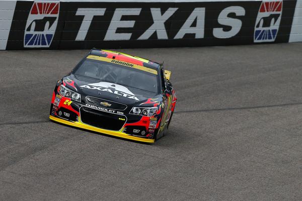 Jeff Gordon Texas On Track