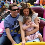 Jeff spent some downtime with the family at Disney World over the weekend.