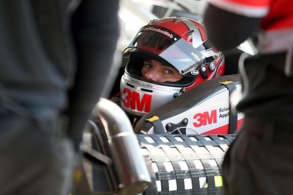 Jeff-Gordon-Darlington-in-car-helmet