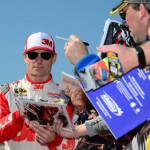 Jeff Gordon Kansas with fans