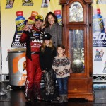 Jeff Gordon Martinsville Family Photo