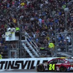 Jeff Gordon Martinsville Checkered Flag